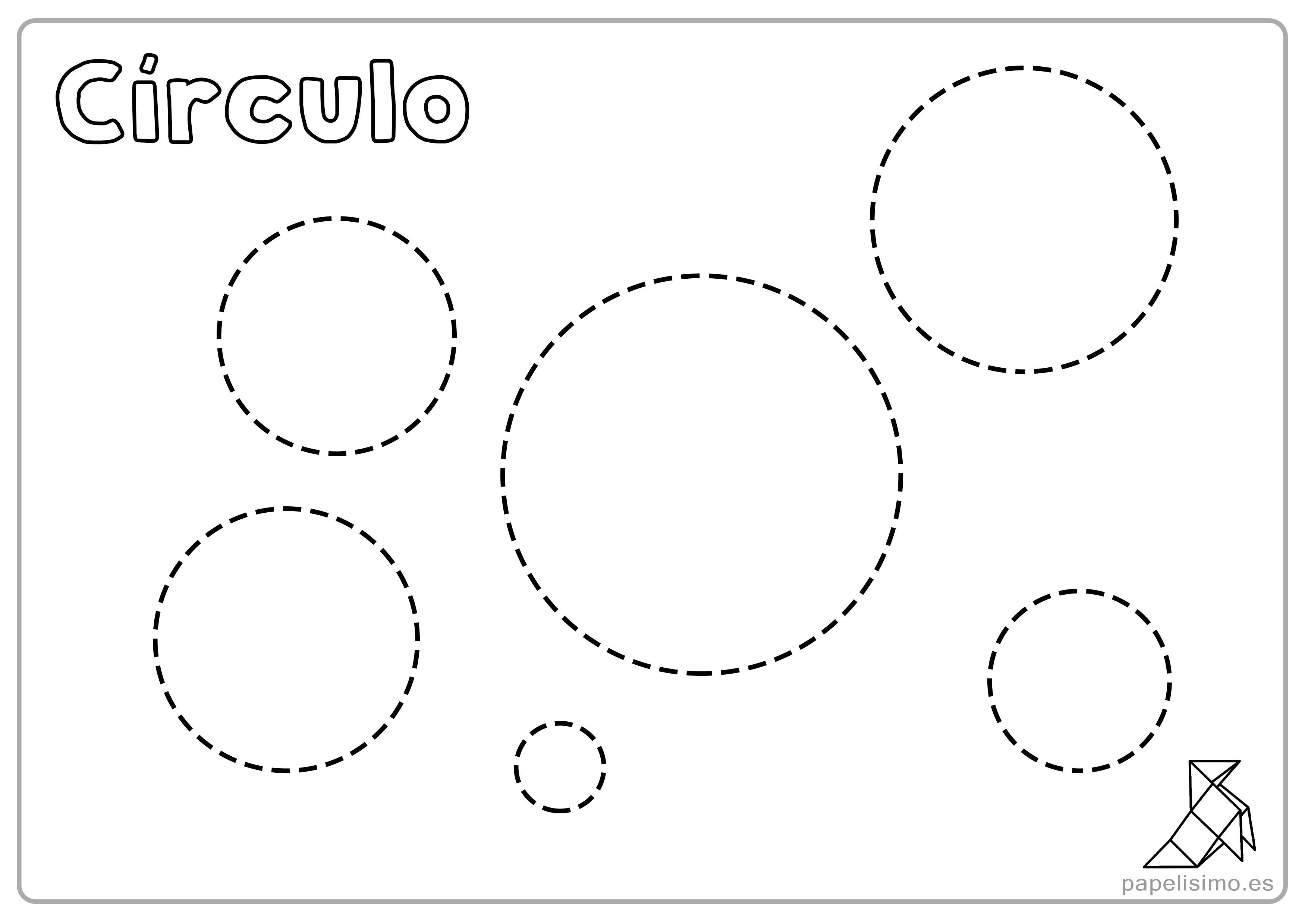 Fichas Del Abecedario Para Colorear Niños De Infantil Y: Fichas De Figuras Geométricas Para Imprimir