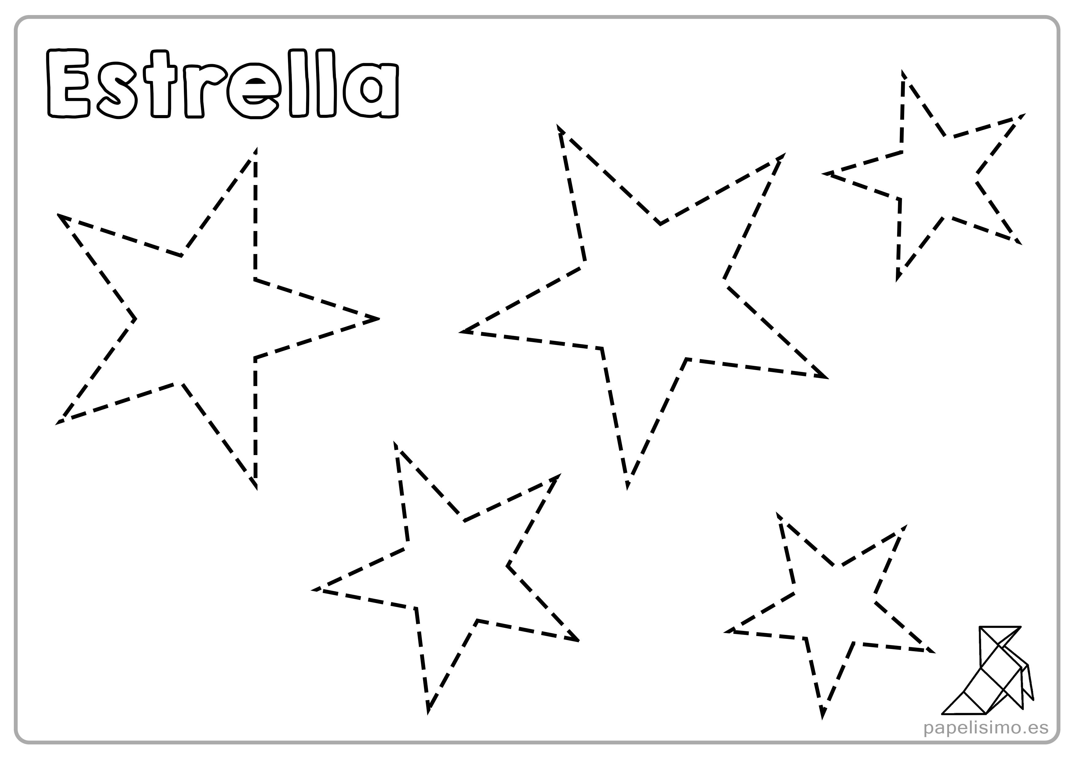 Imagenes De Figuras Para Colorear: Fichas De Figuras Geométricas Para Imprimir