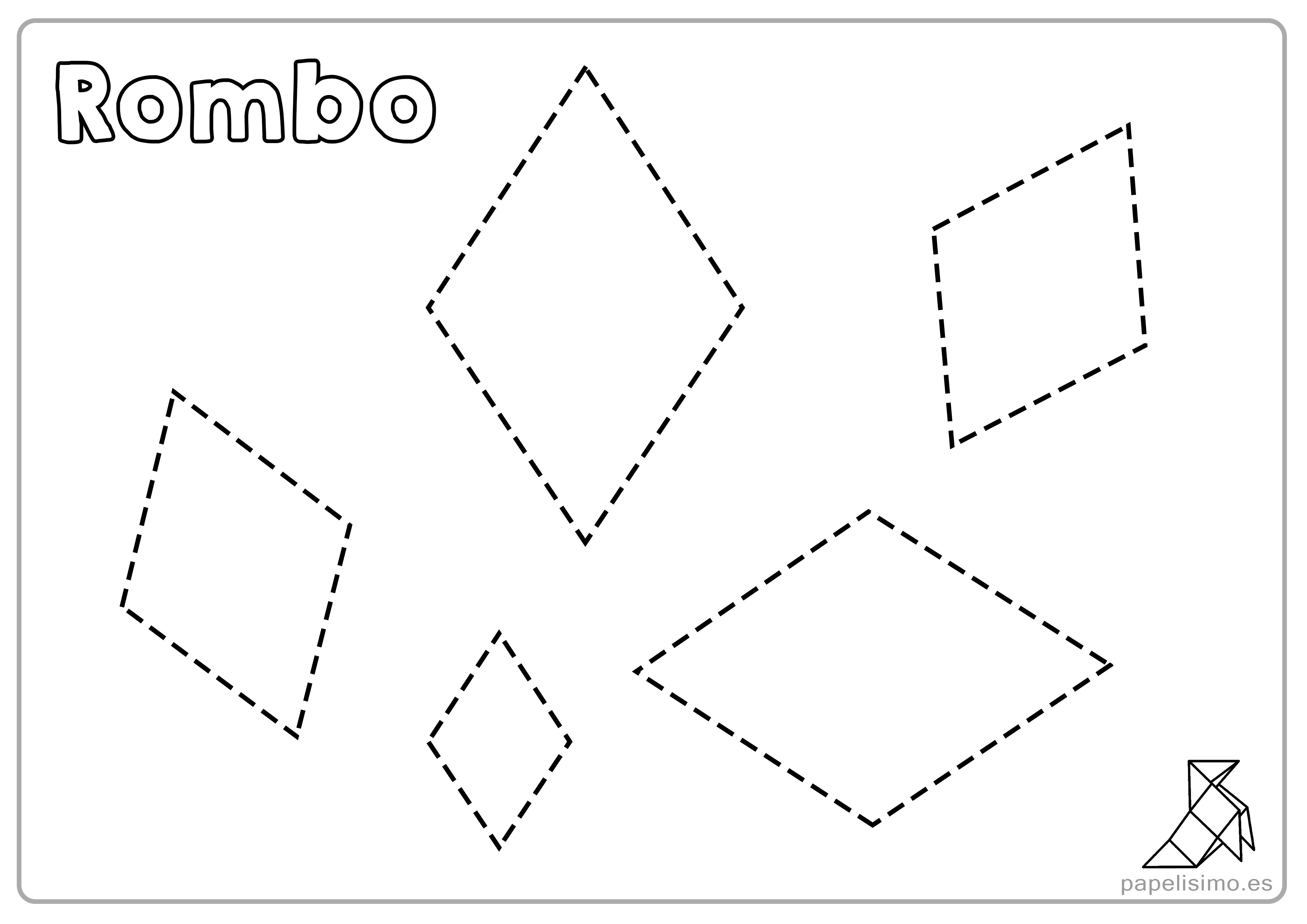 Dibujos Figuras Geometricas Basicas Para Colorear