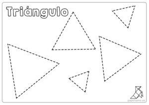 Ficha-triángulos-para-repasar-y-colorear-niños