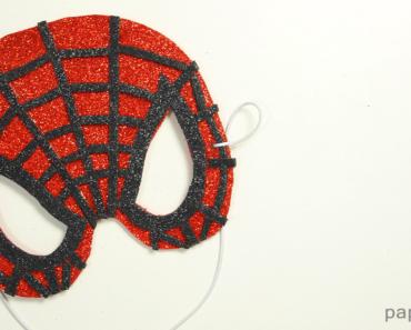 Cómo hacer máscara de Spider-Man mask goma eva
