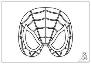 Máscar-de-Spiderman-para-imprimir-mask-template